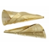 Cones Embossed 45mm Aluminum Brass Tulip Pow Wow Pattern